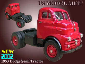1953 Dodge Semi Tractor Red.JPG (31121 bytes)